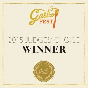 Judges' Choice Award GastroFest 2015